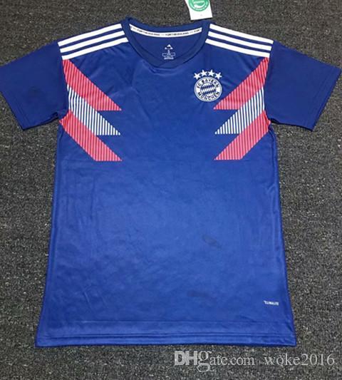 2018 Roja Vidal 2019 Del De Robben Munich Muller Entrenamiento Jugador Tolisso Camiseta Bayern Equipo James Lewandowski Fútbol Hogar