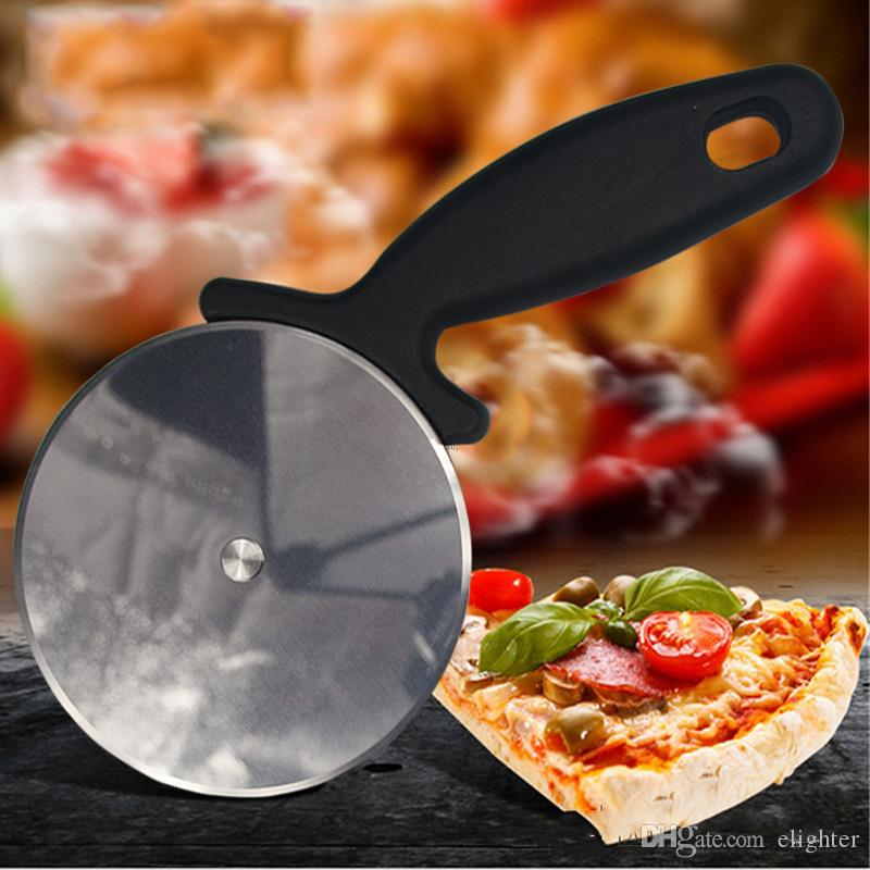 Stainless Steel Pizza Cutter Round Shape Pizza Wheels Cutters Cake Bread Round Knife Cutter Pizza Tools