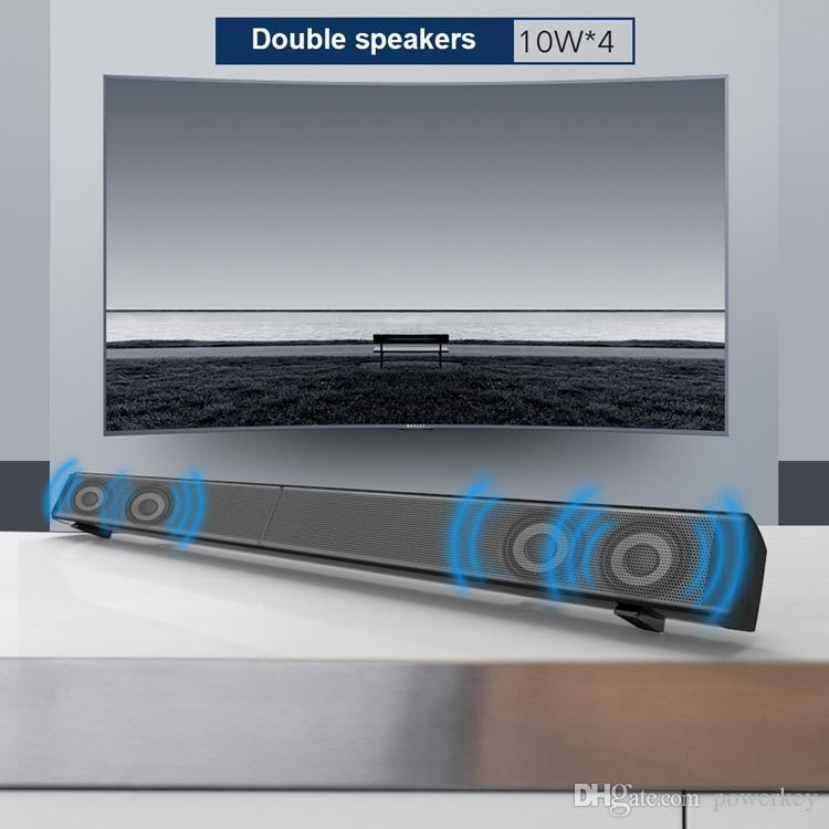 2018 Fashion NEW Arrival Bluetooth Speaker Portable Wireless Speakers Outdoor Waterproof Subwoofer Powerbank 40W speaker Private Model Item