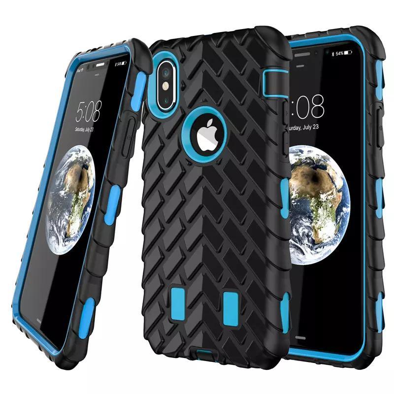 Handy Günstig Kaufen Für Iphone X Fall 3 In1 Hybrid Rüstung Weiche