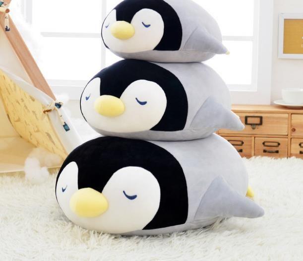 Soft Big Penguin Plush Pillows Doll Toys Kawaii Stuffed Animals