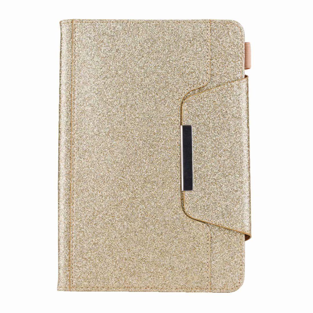Luxury Leather Wallet scintillio di Bling iPad Mini 1 2 3,4, Ipad 2 3 4, 5 6 Air 2 9.7 '', 2017 2018 Titolare PU Sparkle carta Cover Case
