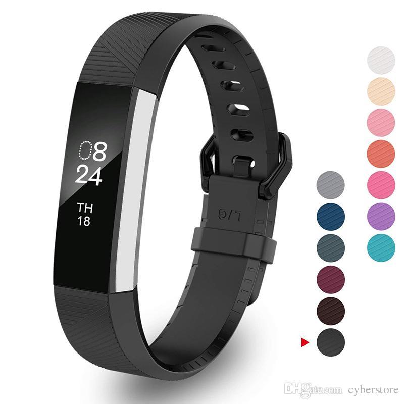 Pour Hr Bandes Bracelet Gps Alta Fitbit Remplacement Connecté IYyvf7b6g