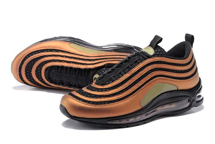 8e7d9d387a14 With Box Top Quality Cushion 97 Skepta Sk London Bronze Running Shoes 97  Mens Vivid Sulfur Black Outdoor Sports Shoes Size 36 46 Mens Running Shoes  Walking ...