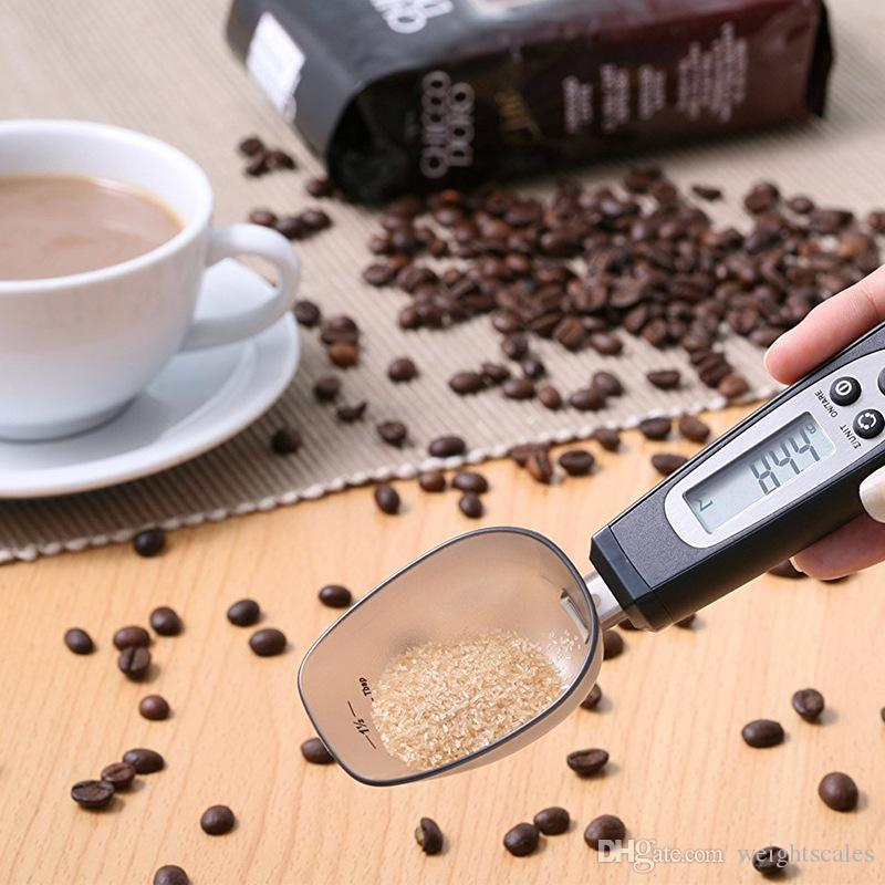 Digital Kitchen Scale Spoon LCD Display Electronic Measuring Spoon Scale Household Supplies Food Weight Scale 500/0.1g Gram in stock fast