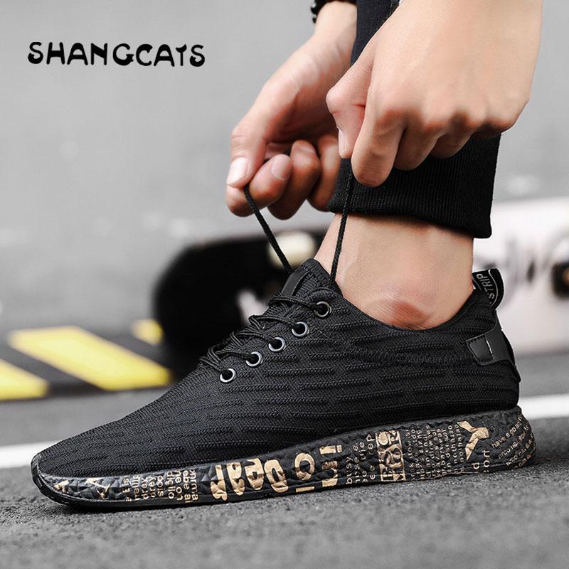 77e6fe749 Compre 2018 Nuevos Hombres Zapatos Informales Transpirable Hombre Tenis  Masculino Zapatos Zapatos Hombre Sapatos Tenis Oro Hombres Graffiti A  $31.47 Del ...