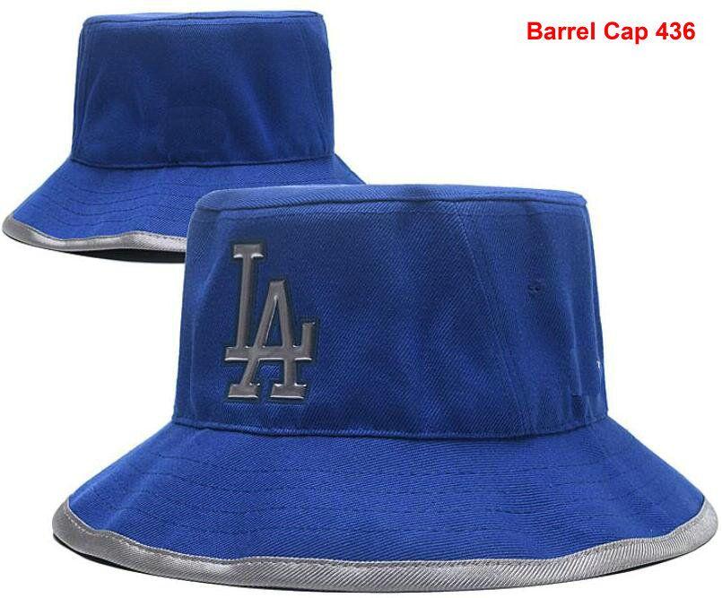 Fashion Embroidery Dodgers Cap LA Bucket Hats Fisherman Hat Stingy ... 3b0c2ffe362