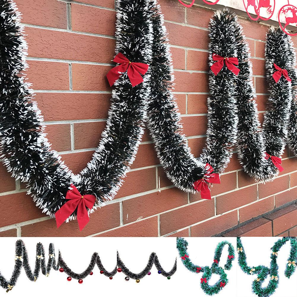 2m Chunky Xmas Garland Home Party Wall Door Decor Christmas Tree