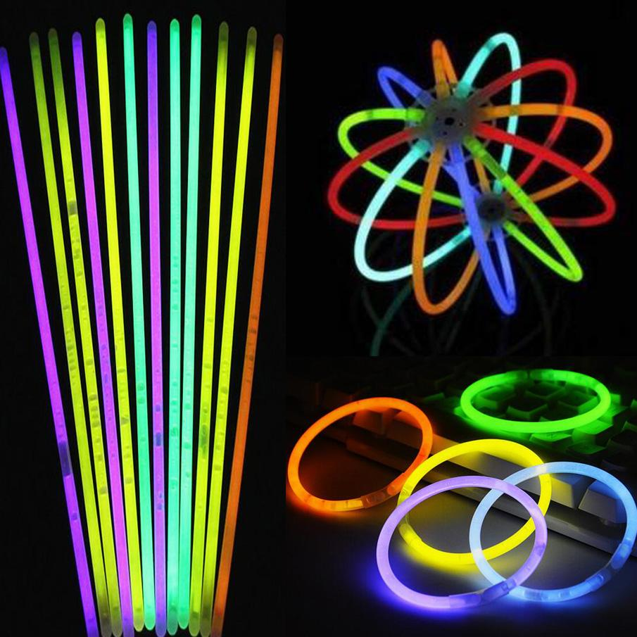 Compre Hot Glow Stick Pulsera Collares Neon Party LED Luz Intermitente  Stick Wand Novedad Toy LED Concierto Vocal LED Flash Sticks Multi Color A   0.14 Del ... 4a692af5625