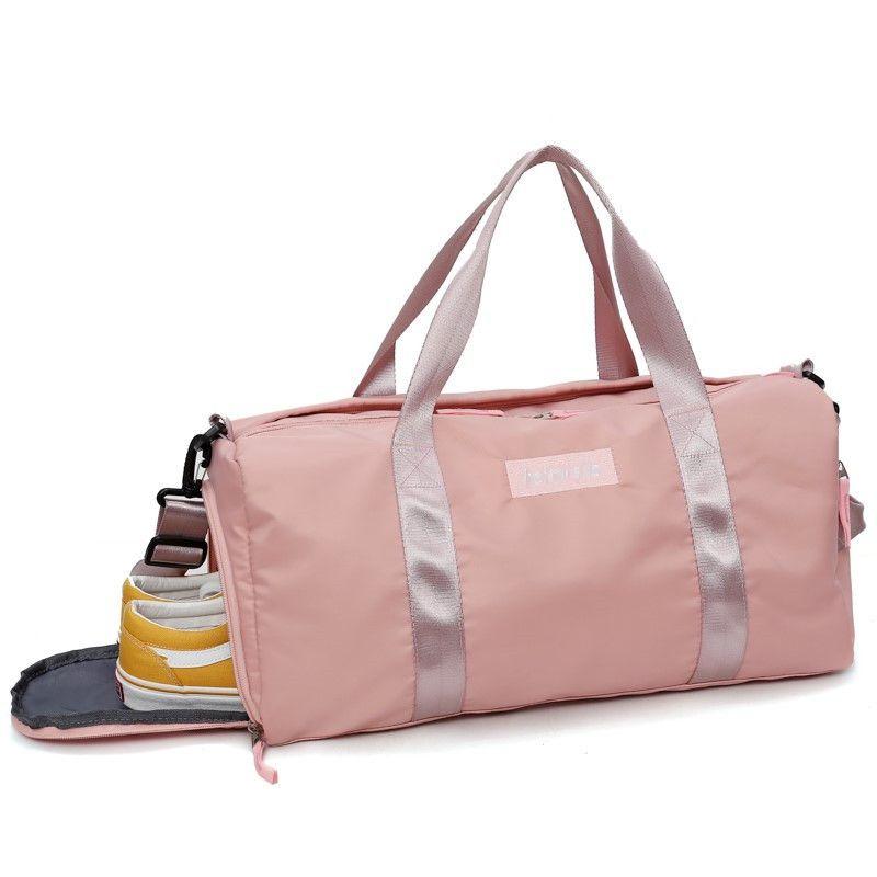 2018 Stylish Outdoor Waterproof Nylon Sports Gym Bags Men Women Girls  Training Fitness Travel Handbag Yoga Mat Bag Sac Sport Gym Bags Cheap Gym  Bags 2018 ... 6ff46c258b412