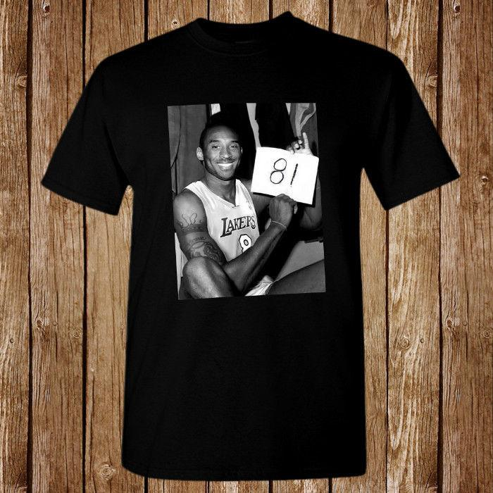 eaa378111bb3 Kobe Bryant 81 Points Size S-5XL T-shirt Online with  12.99 Piece on  Beidhgate08 s Store