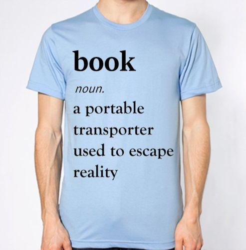 c63f78bb9 Book Definition T Shirt Reading Geek Nerd Top Funny Unisex Casual Tshirt  Gift Tees Cool T Shirts From Wildmarkstore, $12.96| DHgate.Com
