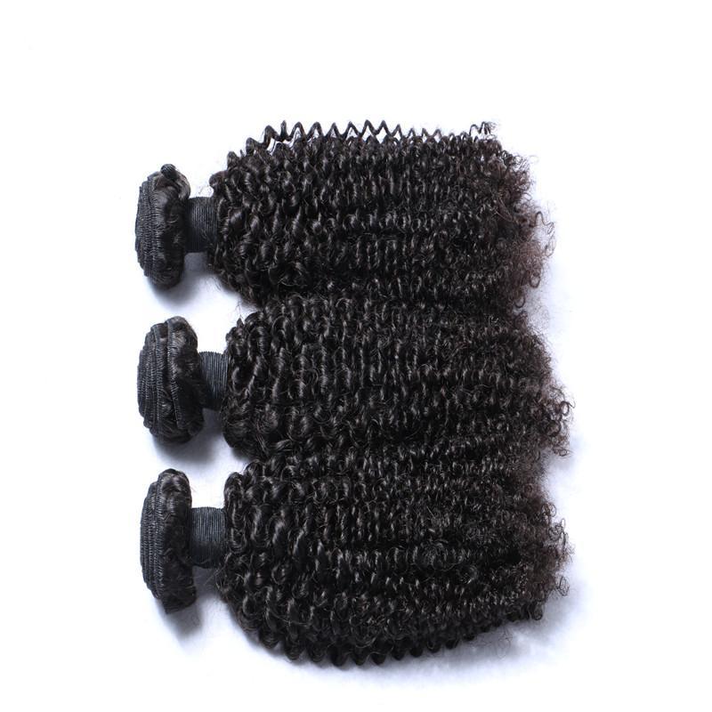 페루 곱슬 인간의 머리는 100 % 버진 처리되지 않은 8A 브라질 말레이시아 인도 크메르어 몽골어 변태 곱슬 머리를 치게 되죠