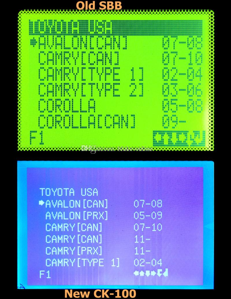 CK100 Plus Auto Auto Jetons de Programmeur Multilangé Silca SBB Avec Dernières V99.99 Clés De Voiture SBB Outils D'immobilisateur