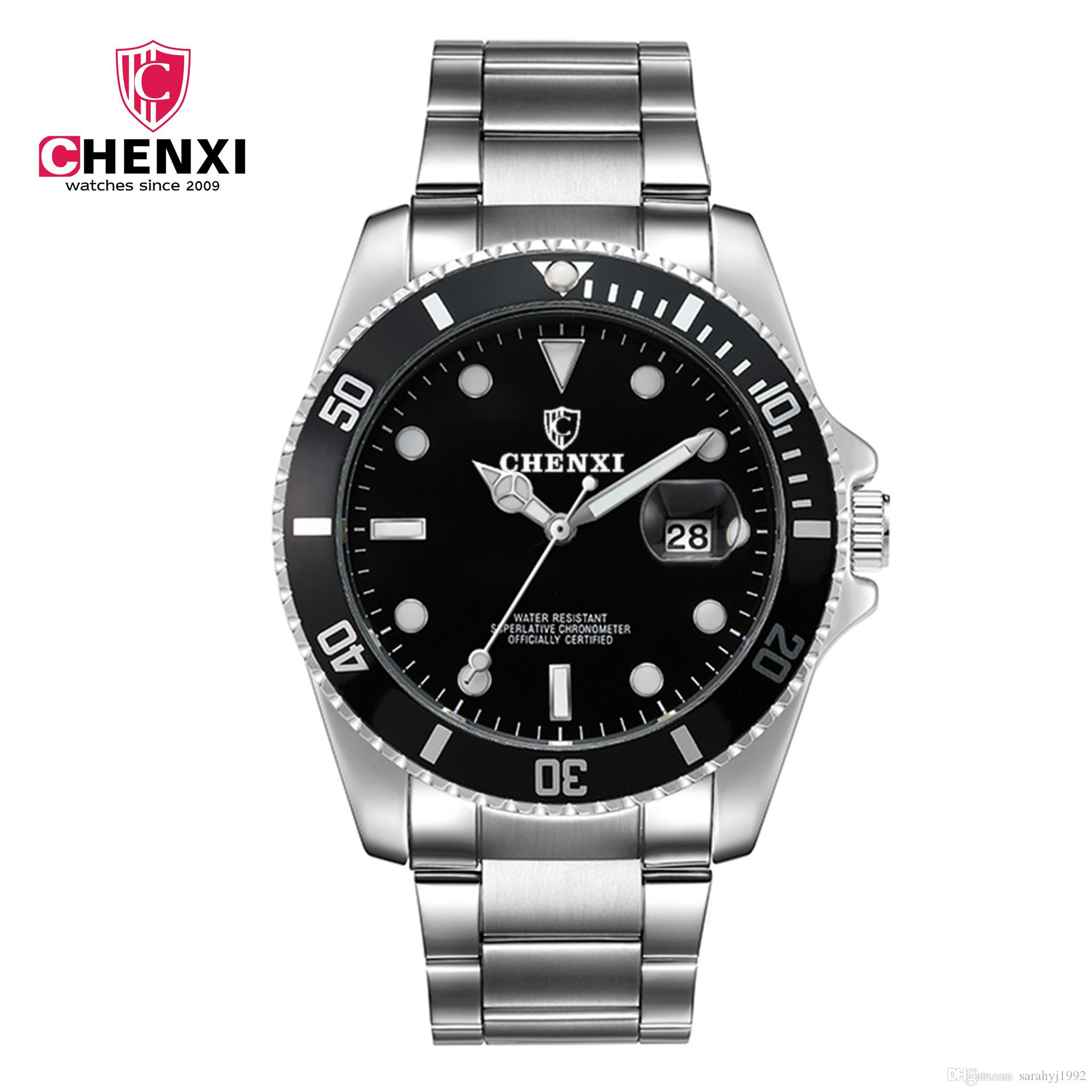 6becaeec5 CHENXI Waterproof Watches Strap Men 's Watch 30M Waterproof Luminous ...
