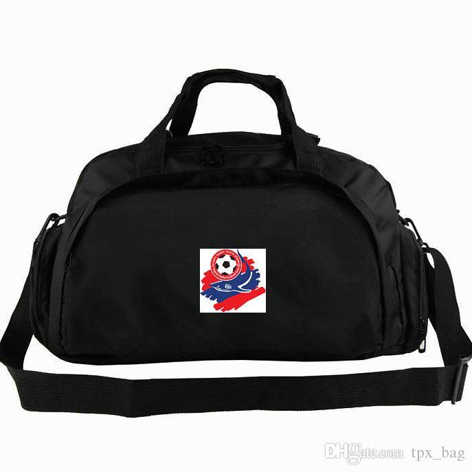 aee96110ca Haifa Duffel Bag Hapoel FC Tote The Sharks Football Club Backpack Soccer  Badge Luggage Sport Shoulder Duffle Outdoor Sling Pack Drawstring Bags  Sports Bags ...