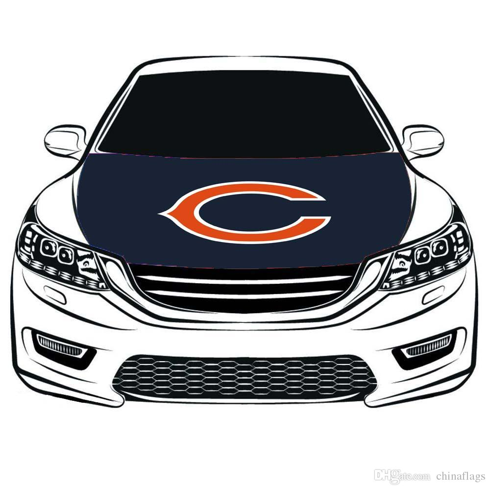 2019 chicago bears flag car hood cover 3 3x5ft 100 polyesterengine flagelastic fabrics can be washedcar bonnet banner from chinaflags 15 08 dhgate