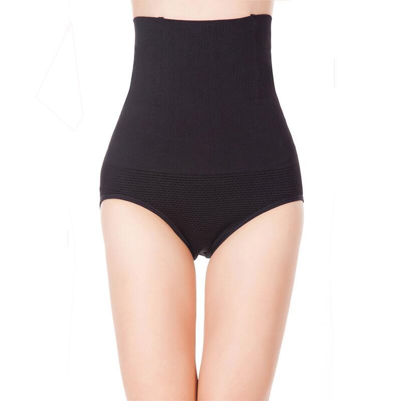 0199b1c866500 Women High Waist Body Shaper Panties Seamless Tummy Belly Control Waist  Slimming Pants Shapewear Girdle Underwear Waist Trainer Slim Shape Belt  Slim Tummy ...