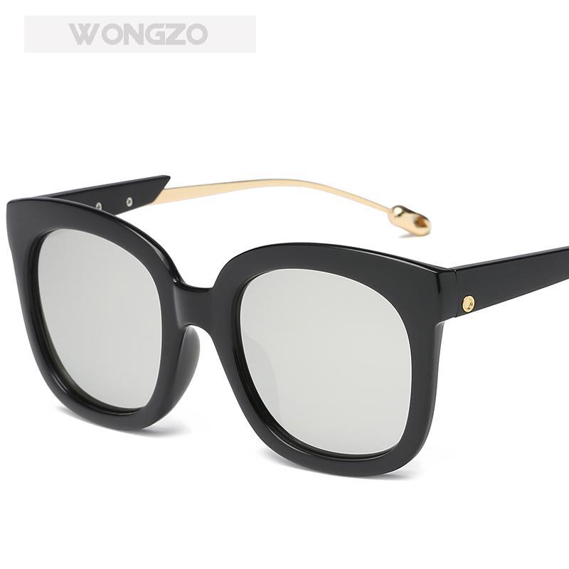 ba6bc1427 Compre Wongzo 2018 Novo Óculos De Proteção Solar Moda Óculos De Sol De  Férias Personalizado Uv400 De Ylingnei, $29.86 | Pt.Dhgate.Com