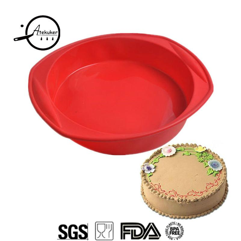 2fbaf62eb Wholesale Round Shape Mold For Baking Cake Silicone Form Bakeware ...