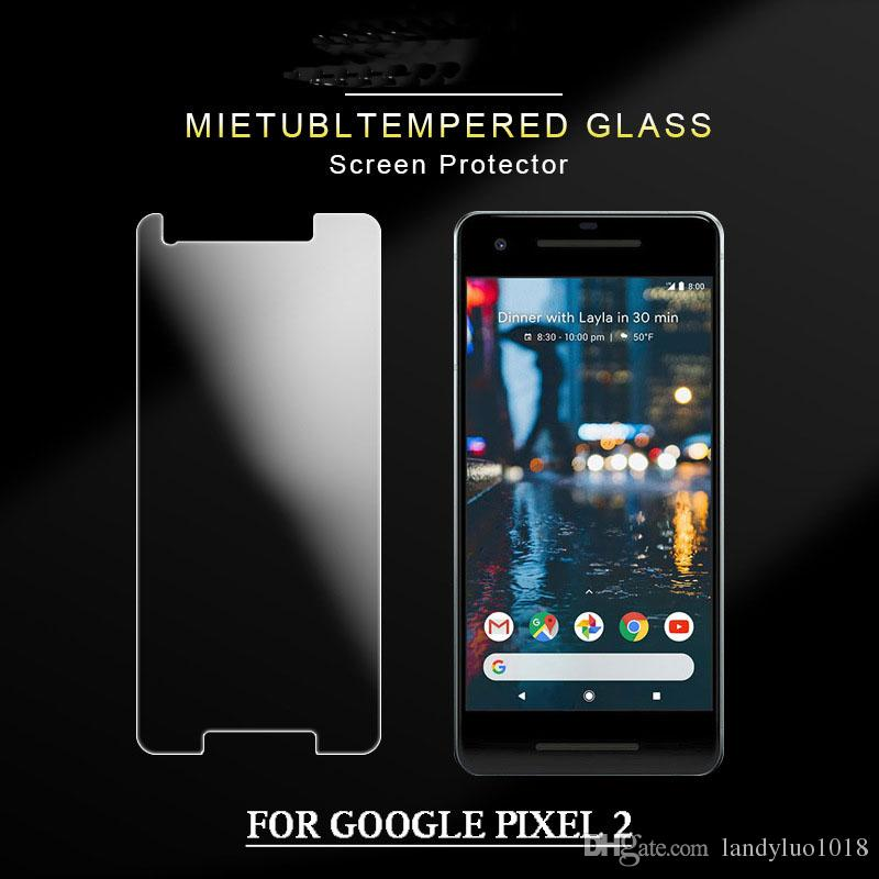 0.3mmTempered Glass Screen Protecor for Google Pixel2 Pixel 2XL Mobile Cheap Anti Fingerprint Screen Case for Google Cell Phone