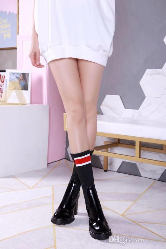 ba4b7af7742 2018 Sexy Silk Elastic Over The Knee Boots Women Stiletto Heel Thigh High  Boots Fashion Botines Mujer Candy Color Party Dress Shoes Fringe Boots Boot  Socks ...