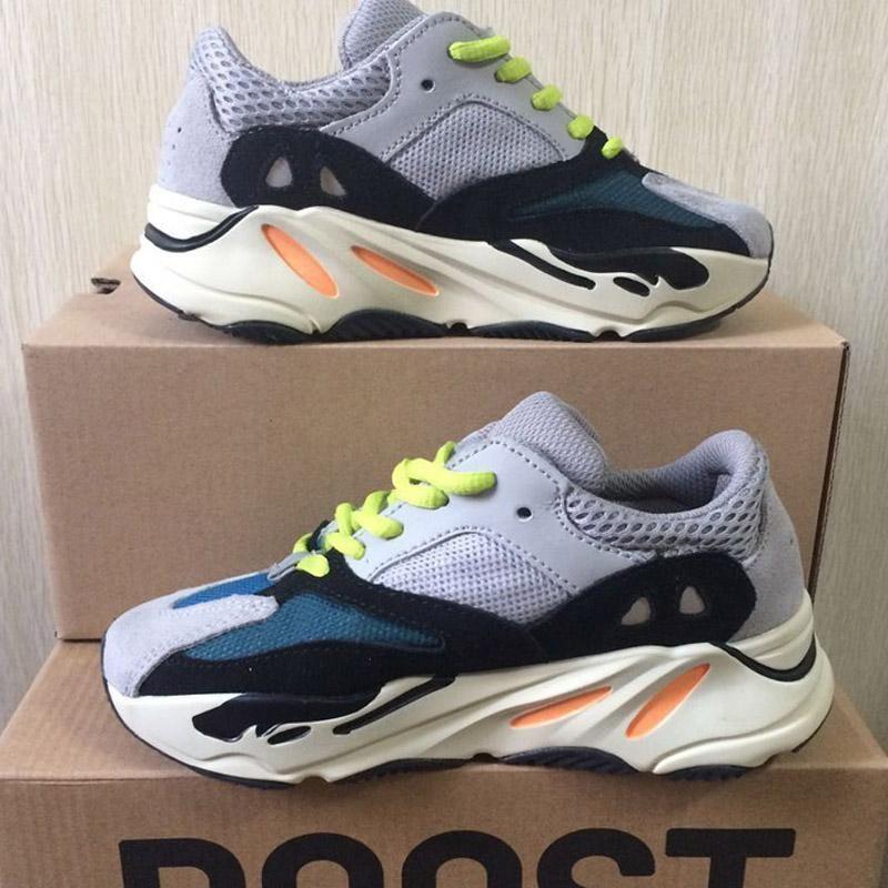 365f01242010 2018 Kids Shoes Wave Runner 700 Kanye West Running Shoes Boys Girls ...