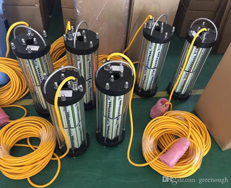 2500 W Verde Subaquática LEVOU Luz de Pesca Peixe Luring Lâmpada LED de Iluminação Para Barco Marinha Noite Luzes de Pesca AC220V / AC110V