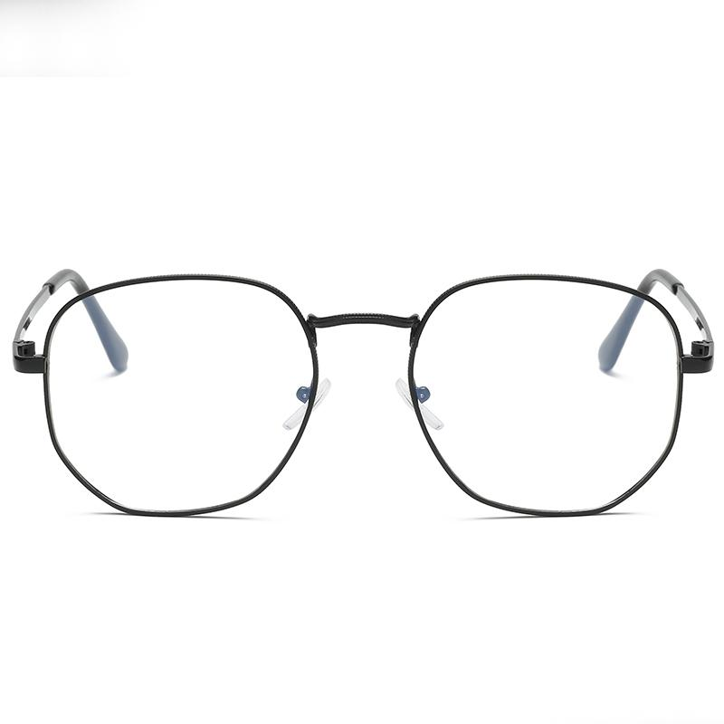 adb994376c EyeglassesRetro Designer Metal Zero Diopter Eyewear Upscale Round ...
