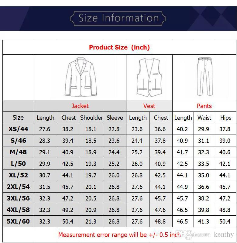 Hunter Green Men Suits Tailored Wedding Suits Notched Lapel Groom Tuxedo Blazer Jacket Slim Fit Best Man Prom Suit Evening Party