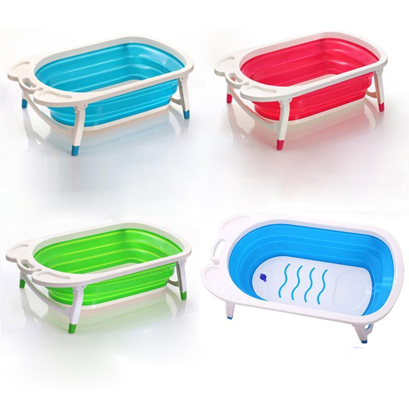 2019 new style foldable baby bathtub/cheap folding baby bath tub