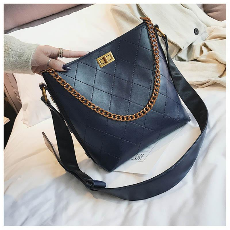 94819a432799 New Designer Women Female Shoulder Bag Crossbody Bucket Bags Small  Messenger Bag Handbags PU Leather High Quality Satchel Handbags Ladies  Purses From ...