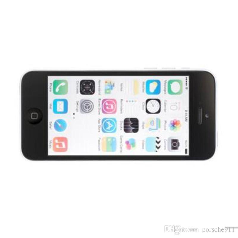 Restaurado Desbloqueado Apple iPhone 5C Blanco Azul Rosa Amarillo Verde 8G / 16GB / 32GB Dual-Core I5C A5C iOS 32GB 3G WIFI GPS Teléfono móvil