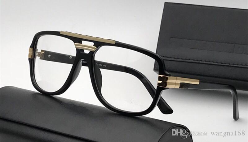 b9f17d9e9b8 Luxury 8037 Glasses For Men Design Square Summer Simple Populare ...