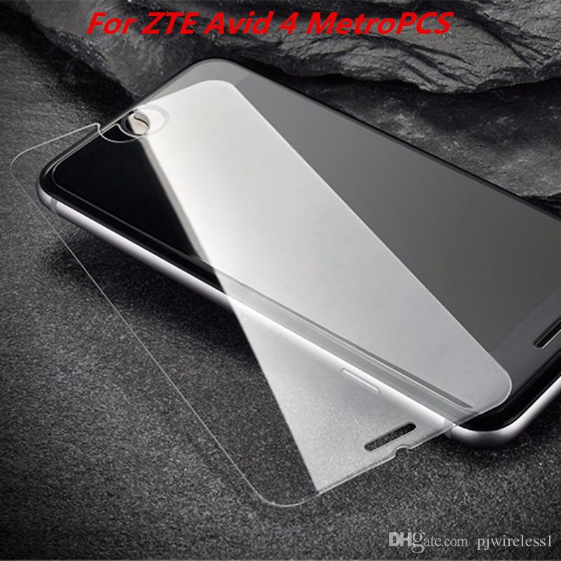 Tempered Glass For LG aristo 2 Metropcs X210 For ZTE Avid 4 MetroPCS tempo  X N9137 Screen Protector Film without retail package C