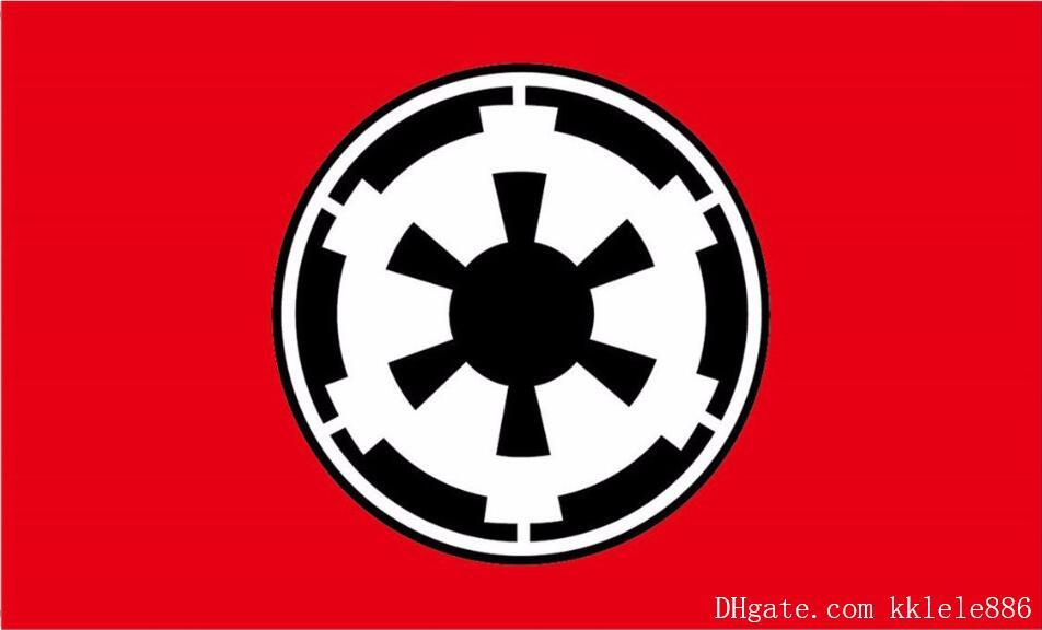 Galactic Empire Flag 90 X 150 Cm Polyester For Home Decoration