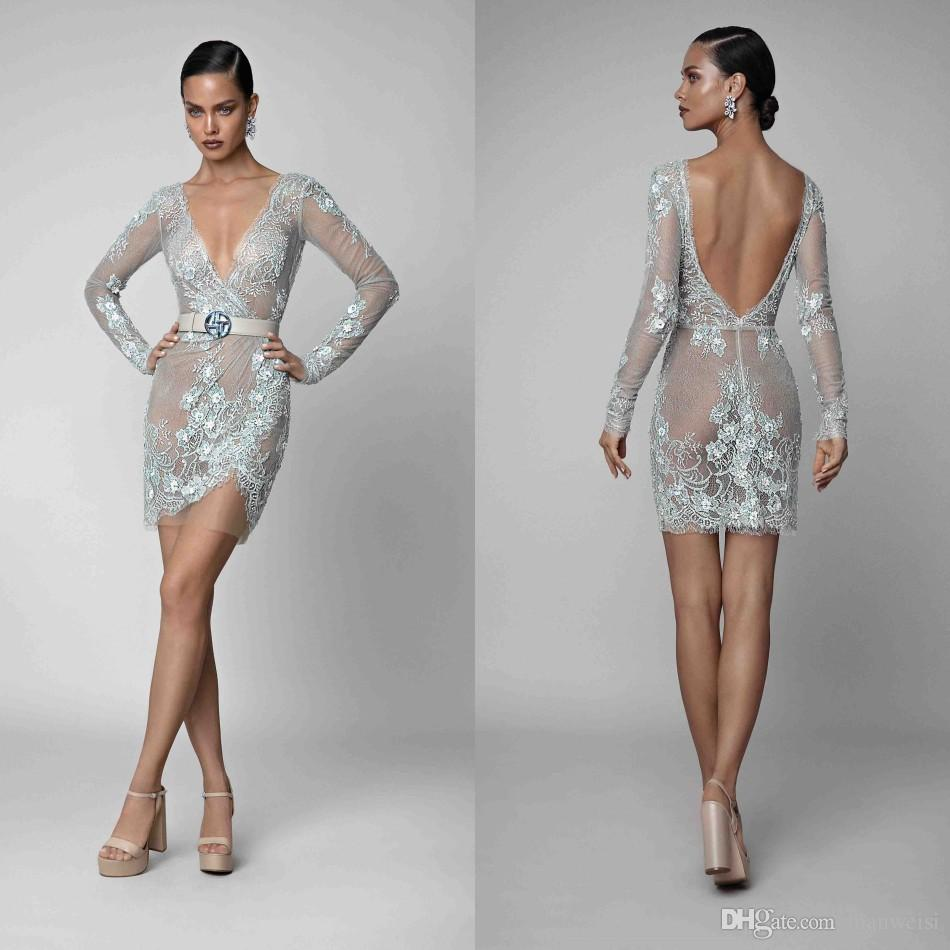 Vestidos de novia corto 2019