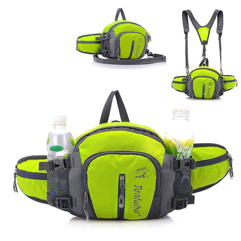 6bccb6750924 TANLUHU Fanny Packs Running Belt Jogging Cycling Waist Pack Pouch Sports  Bag with Bottle Holder for Men Women Fashion