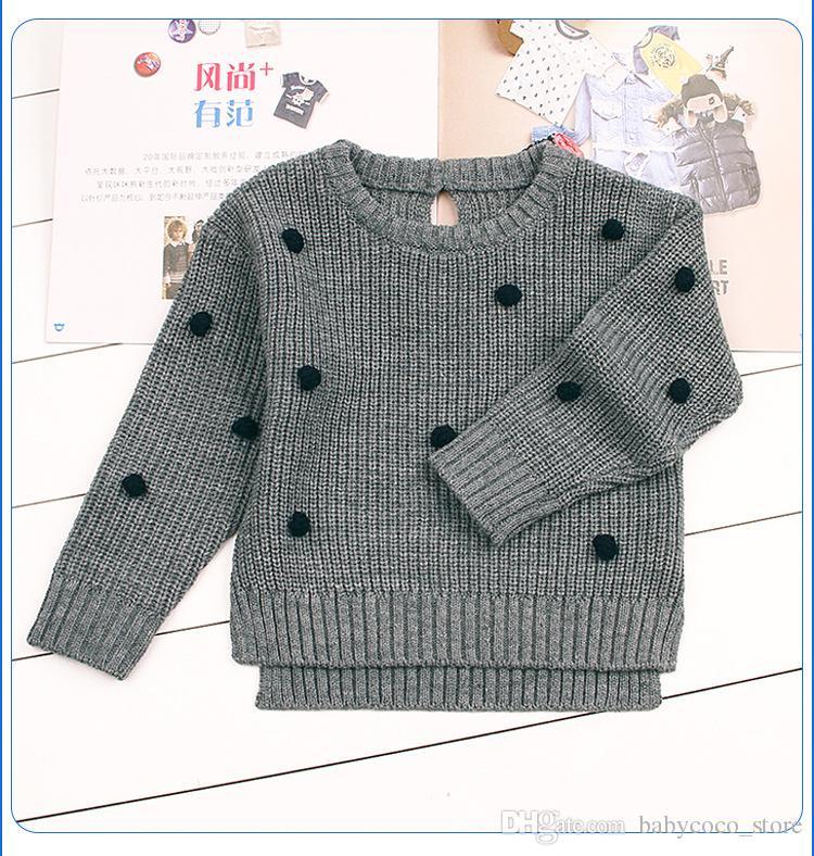 8fbdfcb74 Newborn Baby Boys Knit Pullovers Spring Outerwear Children Kids ...