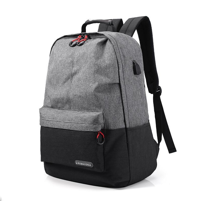48d8af815875 Canvas 15.6inch Laptop Men Backpack For Teenage Student School Bag Casual  Women Rucksack Travel Daypack Male Solar Ogio Backpack Rucksacks From  Bluemoodd