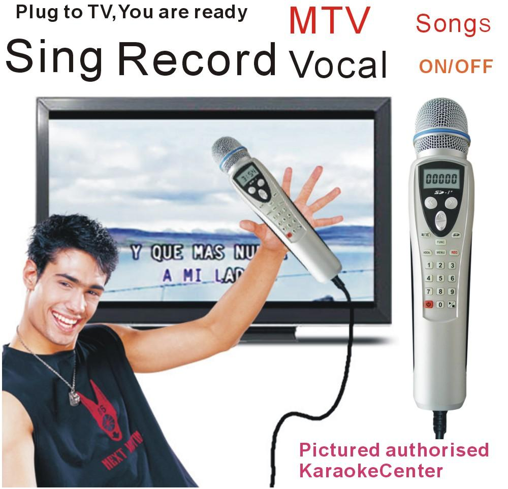 Russian Karaoke Player Miagic Karaoke Micorphone System, Portable Sing  Machine  One step add more song