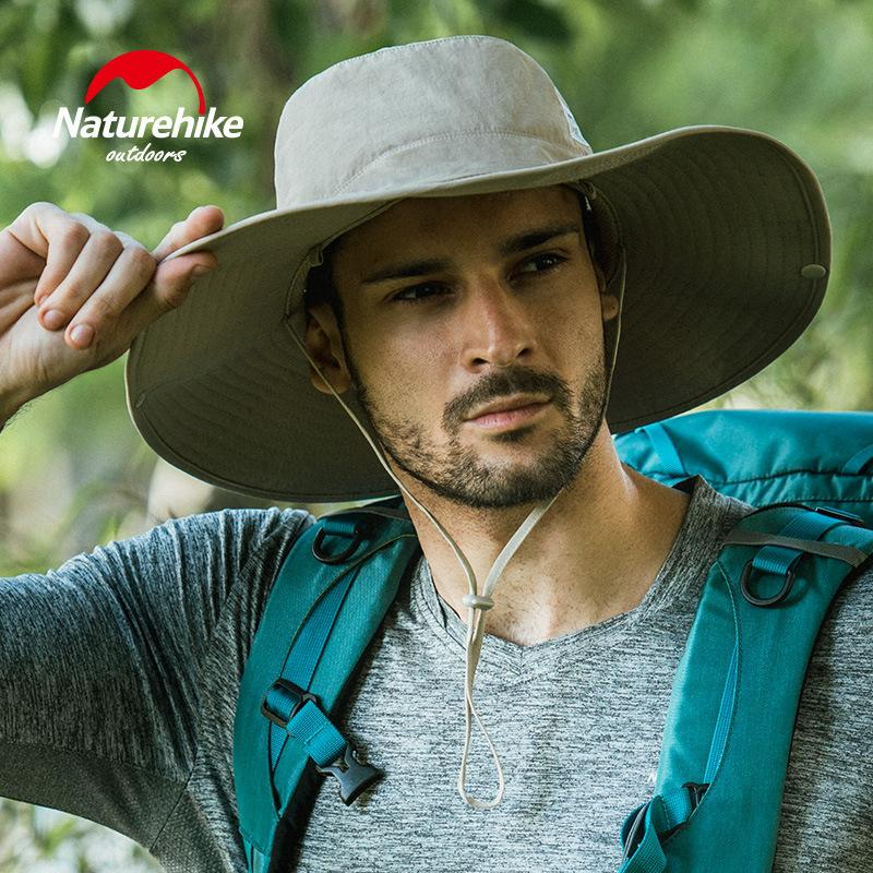 2019 Naturehike Men S Wide Brim Sun Hat Sun Protection Cap For Summer  Outdoor Hiking Fishing Hunting Desert Hawaiian From Youtuo 65ac98745fc