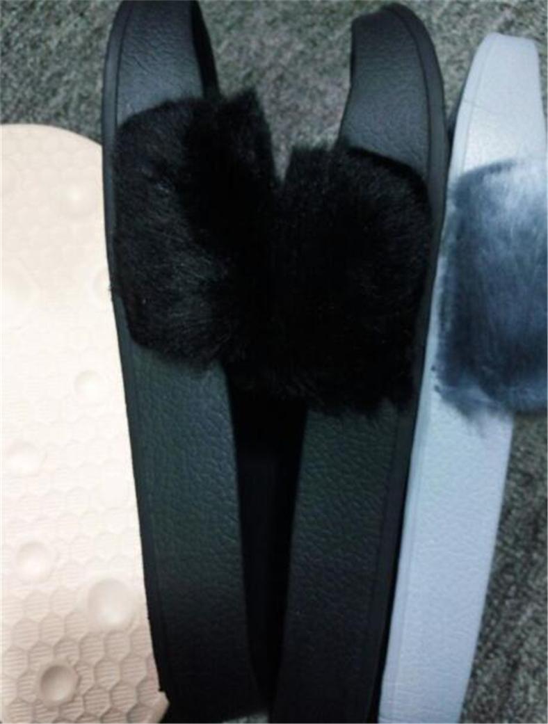 a30a8ee9c3b4 QW1Puma Rihanna Fur Leadcat Fenty Slide Slippers Women Men House ...