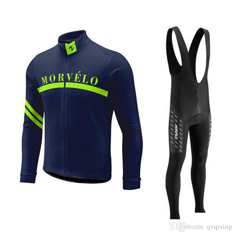 Morvelo Cycling Jersey Suit Men Mtb Bike Wear Sportswear Ropa Camisa ... a4a3f213f