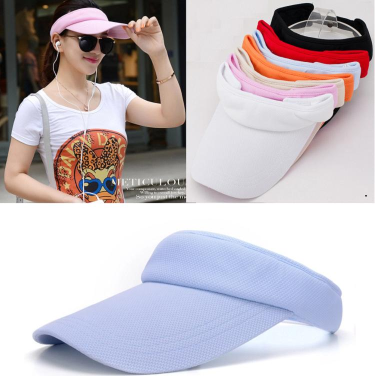 40e8905d88e 2018 Lady Sports Hats Visors Summer Hats Sun Protection Sun Hats Protect  From Sun Casual From Shunhuico
