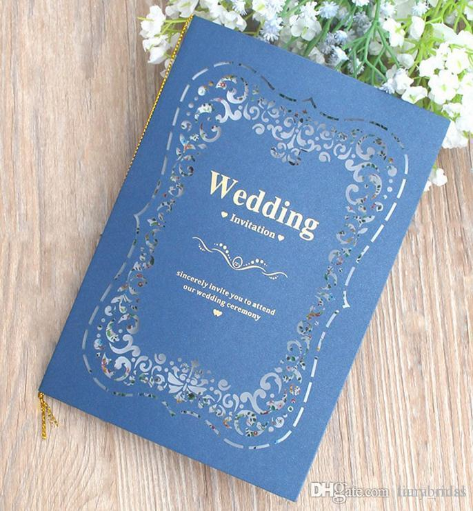 2018 Wedding Invitations Kits 50 Packs Party Invitations With Blank