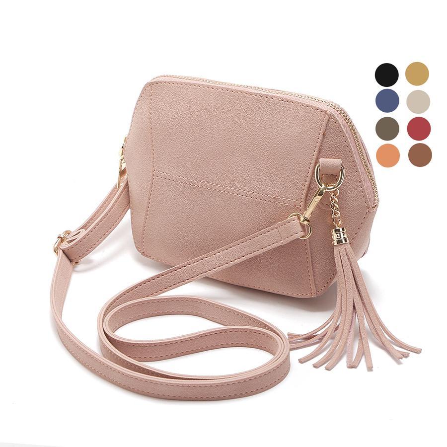 ecd31e72a Fringe Crossbody Bag Women Suede Clutch Bag Girl Fashion Messenger Shoulder  Handbags Ladies Beach Holiday Tassel Bags Designer Purses Satchel Bags From  ...