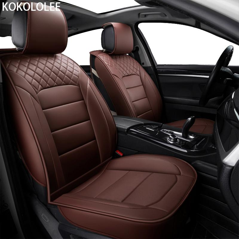 Wholesale Kokololee Pu Car Seat Cover Universal Seat Covers For