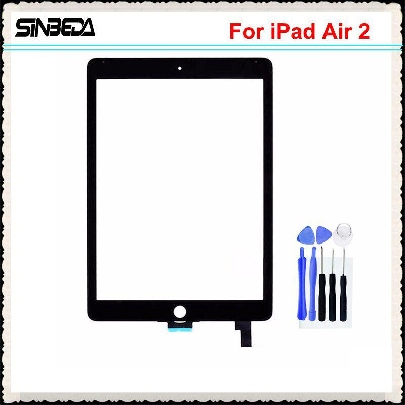Sinbeda 100% Brand New Touch screen For iPad Air 2 A1567 A1566 Touch Screen Digitizer Replacement For iPad 6 6th Tablet Touch Panel