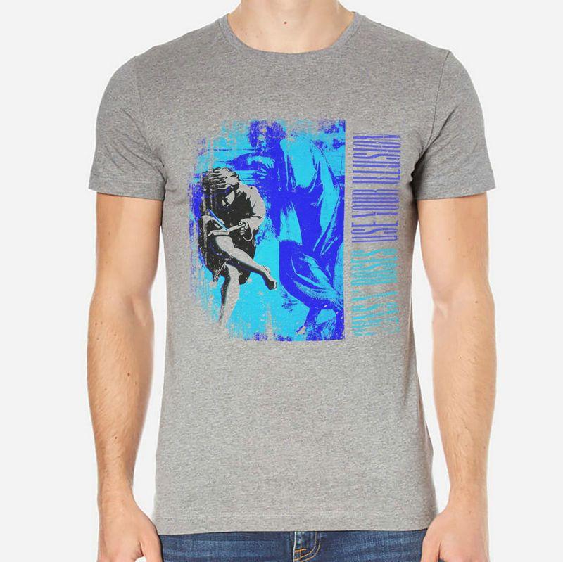 Guns N Roses Rock T Shirt Men White Or Gray 1 B C 040 T Shirt Men S